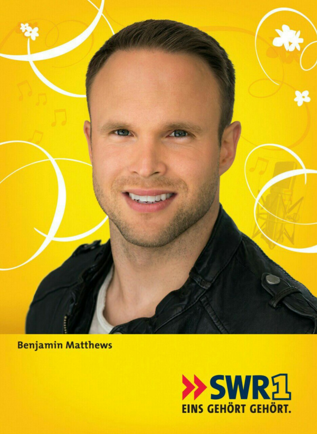 Benjamin Matthews auf Autogrammkarte